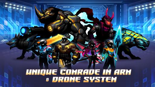 Cyber Fighters: League of Cyberpunk Stickman 2077 screenshot 5