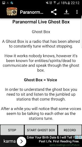 Paranormal Live Ghost Box screenshot 6