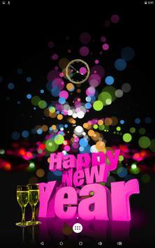 السنة الجديدة على مدار الساعة 7 تصوير الشاشة