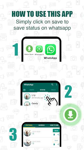 Status Download for WhatsApp 1 تصوير الشاشة