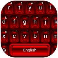لوحة المفاتيح الحمراء لالروبوت on 9Apps