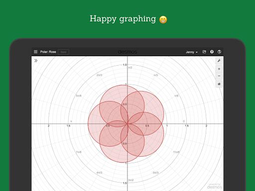 Desmos Graphing Calculator 9 تصوير الشاشة