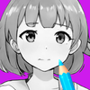Anime Manga Coloring Pages Book icon
