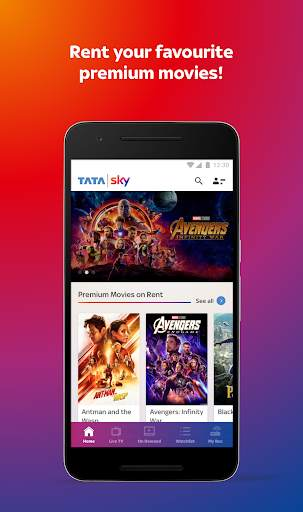 Tata Sky Mobile- Live TV, Movies, Sports, Recharge screenshot 2