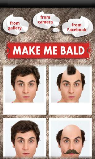 Make Me Bald Prank 1 تصوير الشاشة