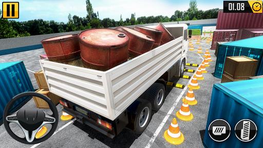 Big Truck Parking Simulation - Truck Games 2021 screenshot 2