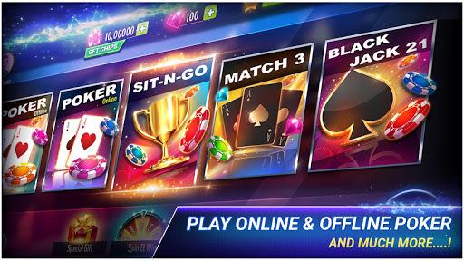 Poker Offline 1 تصوير الشاشة