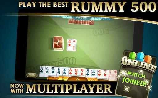 Rummy 500 screenshot 7