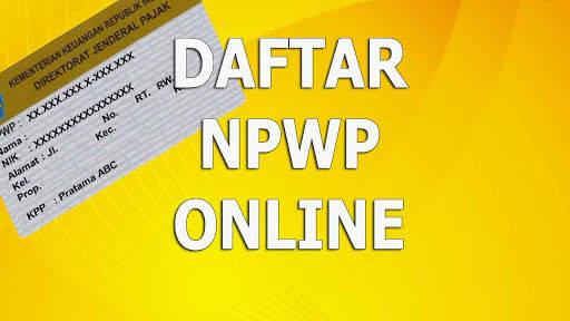 DAFTAR NPWP ONLINE screenshot 1