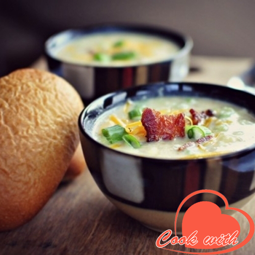 Soup recipes أيقونة