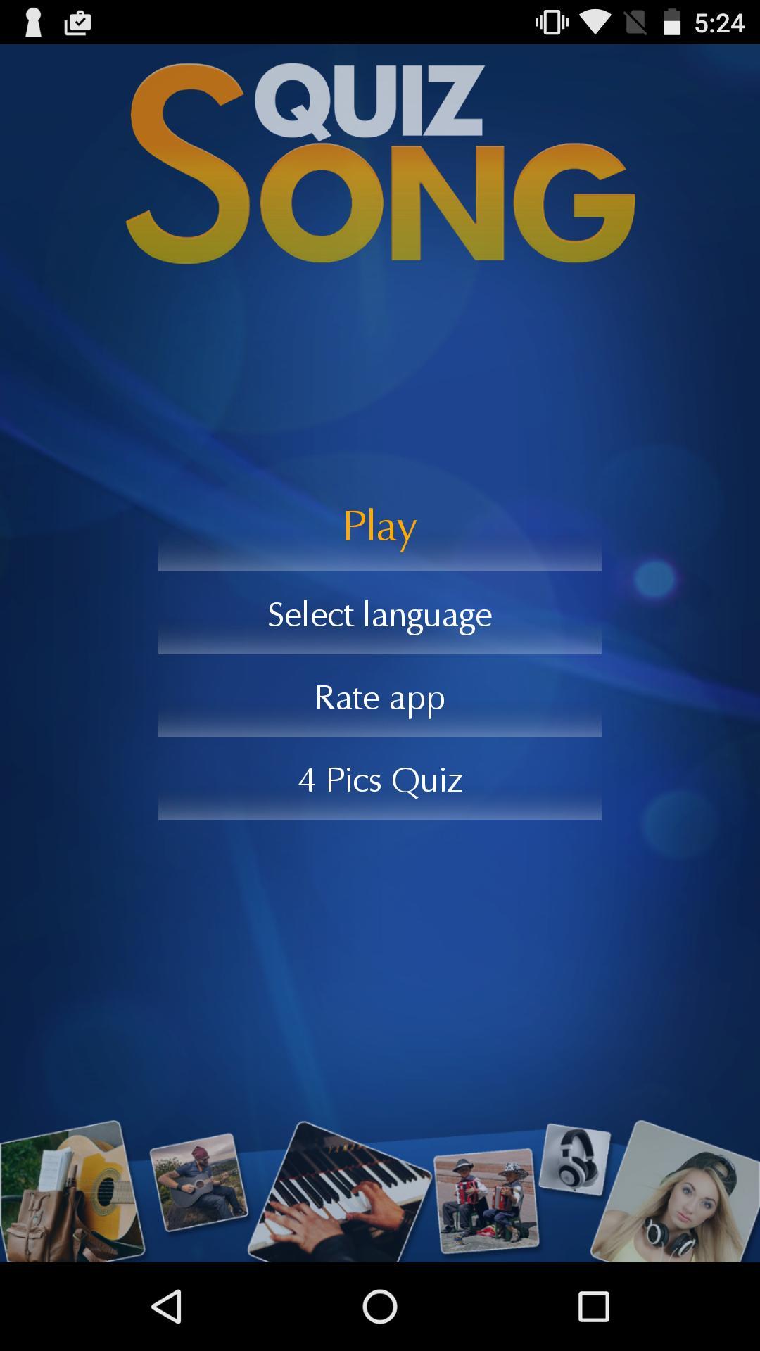 Song Quiz: Guess The Song 1 تصوير الشاشة
