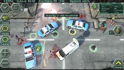 Zombie Defense 3 تصوير الشاشة