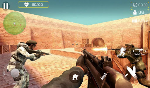 Counter Terrorist Fire Shoot 1 تصوير الشاشة
