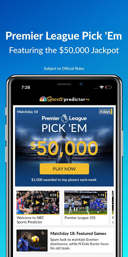 NBC Sports Predictor screenshot 6