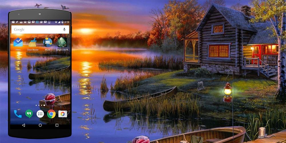 Sunset Live Wallpaper 1 تصوير الشاشة
