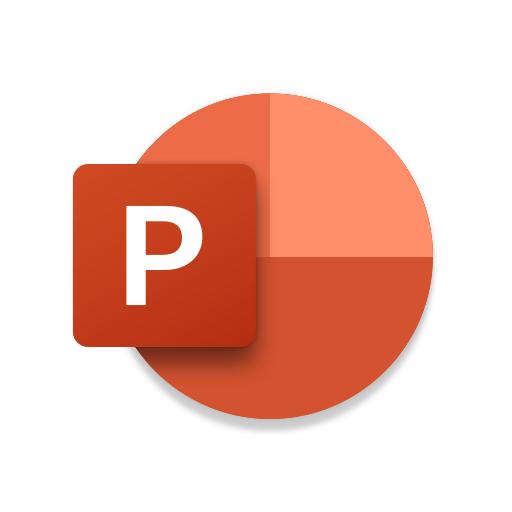 Microsoft PowerPoint أيقونة