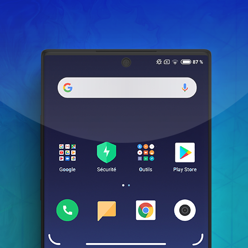 Redmi Note 7 Theme أيقونة
