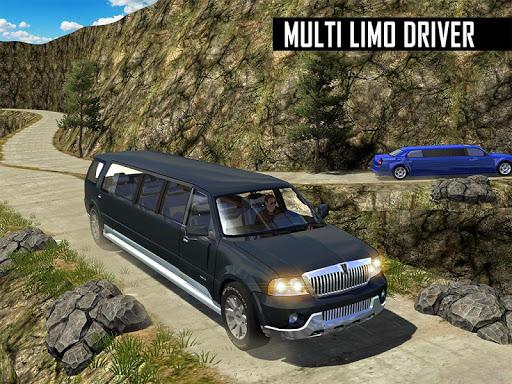Big City Limo Car Driving Simulator : Taxi Driving 21 تصوير الشاشة
