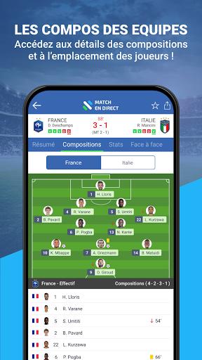 Match en Direct - Live Score 4 تصوير الشاشة