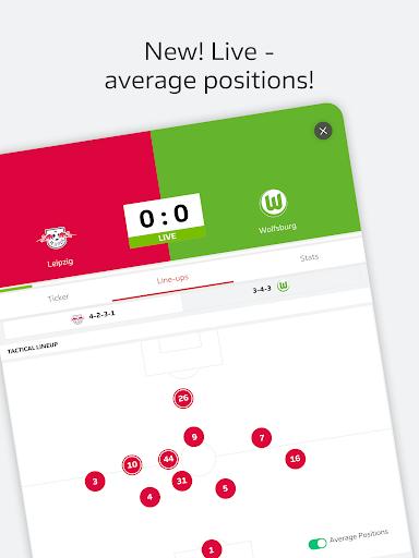 BUNDESLIGA - Official App 11 تصوير الشاشة