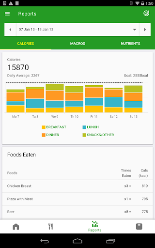 Calorie Counter by FatSecret screenshot 10