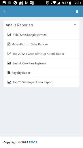 RMOS POS RAPOR screenshot 5
