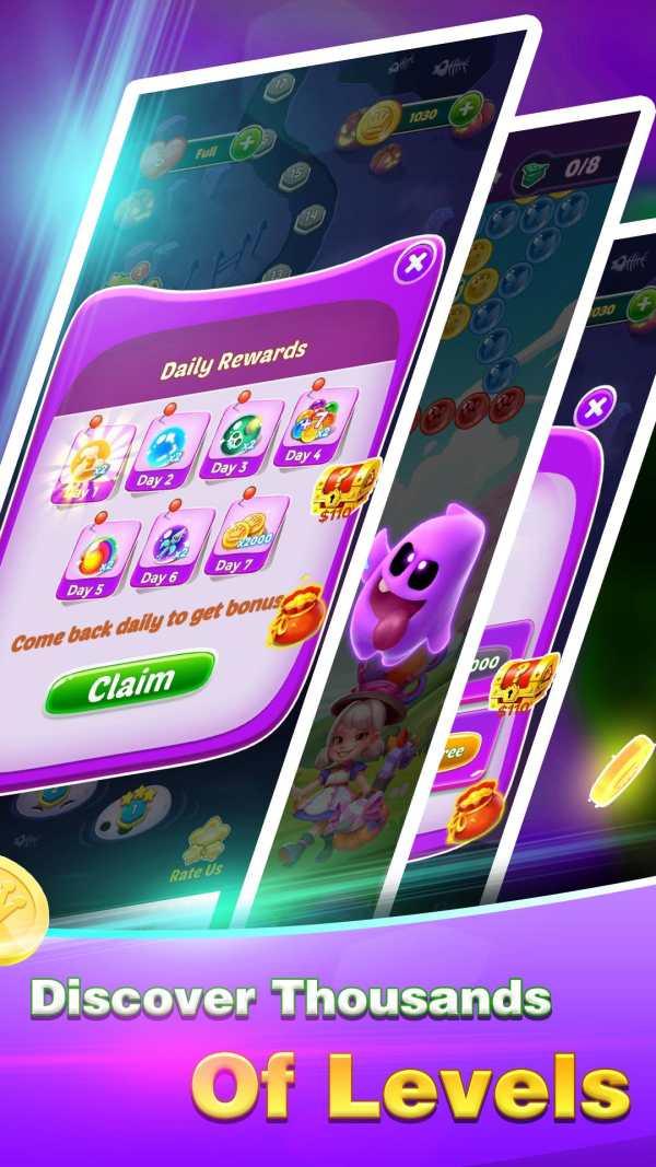 Golden Bubble Shooter screenshot 5