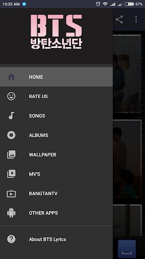 BTS Lyrics (Offline) screenshot 1