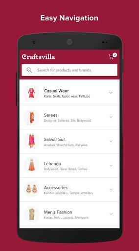 Craftsvilla - Sarees Suits Jewellery Shopping App 4 تصوير الشاشة