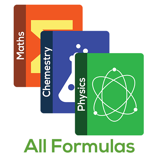 All Formulas - Math, Physics & Chemistry أيقونة