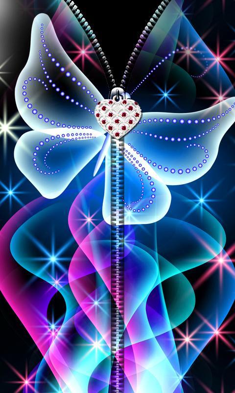 3D Butterfly Zipper UnLock 8 تصوير الشاشة