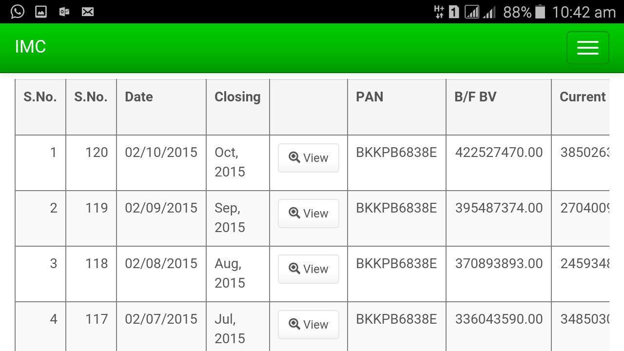 IMC Business Application screenshot 4