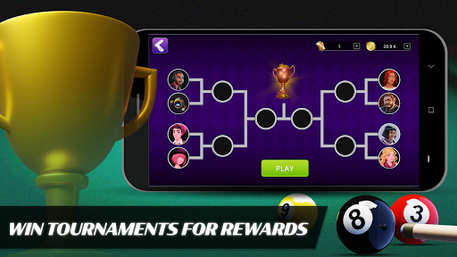 8 Ball Billiards- Offline Free Pool Game screenshot 11