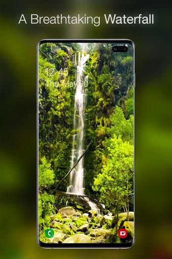 خلفية شلال متحركة 1 تصوير الشاشة