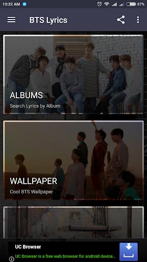 BTS Lyrics (Offline) screenshot 2
