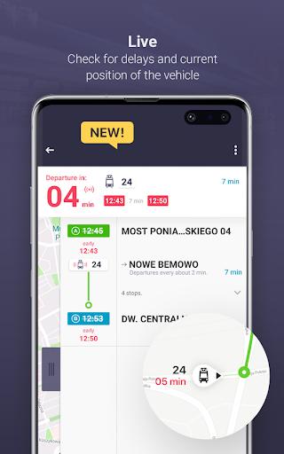 Jakdojade: public transport screenshot 3