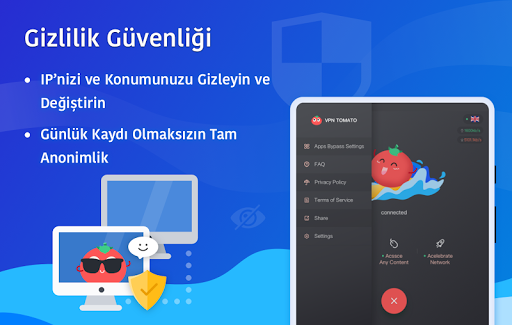 Ücretsiz VPN Tomato | En Hızlı Ücretsiz VPN Proxy screenshot 10