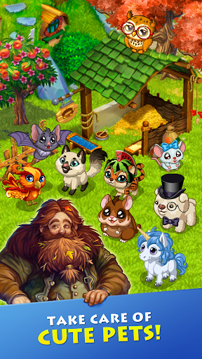 Farmdale: farming games & township with villagers screenshot 3