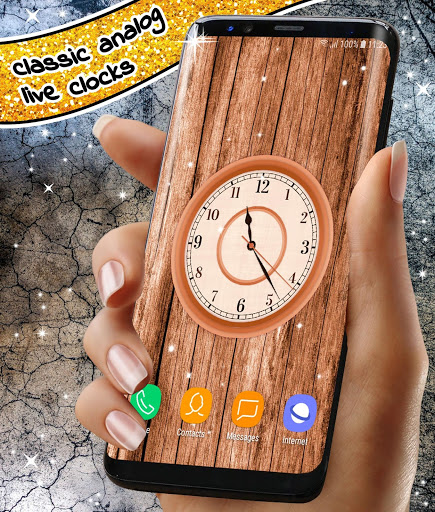 Analog Clock App ❤️ Classic Live Wallpaper Themes screenshot 3