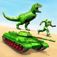 Tank Robot Car Game 2020 – Robot Dinosaur Games 3d on 9Apps