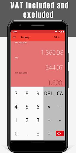VAT Calculator 2 تصوير الشاشة