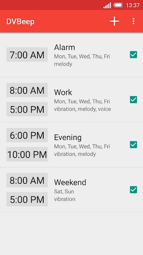 Speaking clock DVBeep screenshot 1