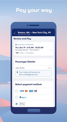 Omio: Book Train, Bus & Flight Tickets screenshot 4