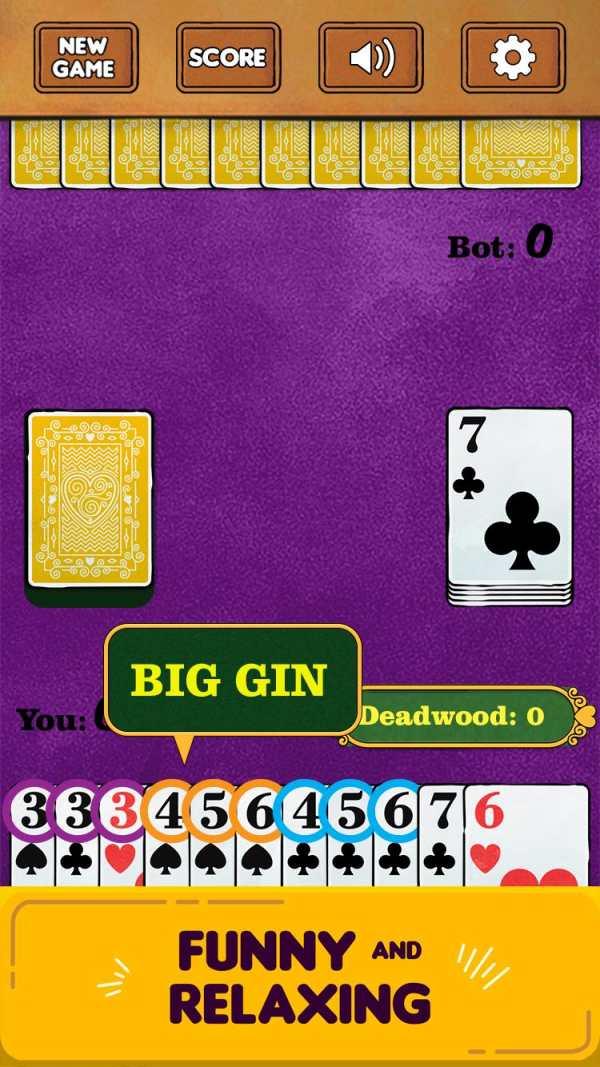 Gin Rummy Free! screenshot 5