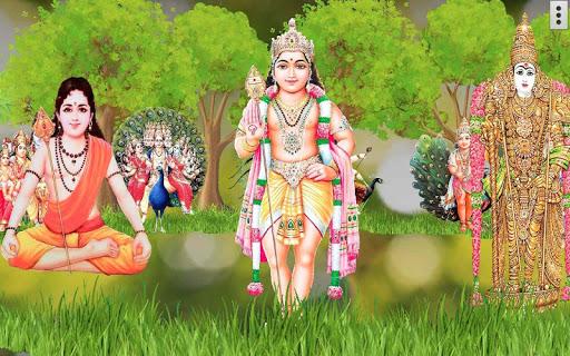 4D Lord Murugan Live Wallpaper screenshot 4