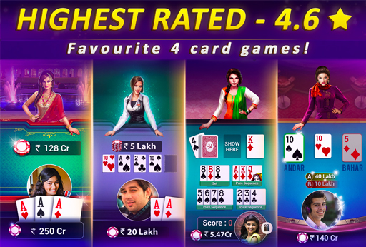 Teen Patti Gold - 3 Patti & Rummy & Poker screenshot 3