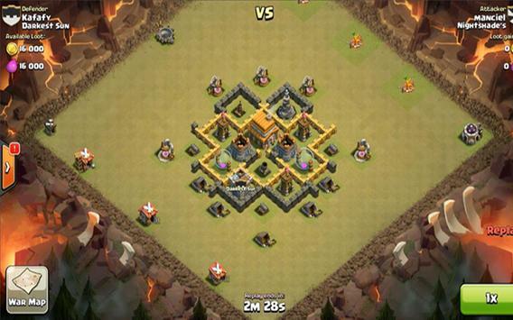Strategy war coc 2 تصوير الشاشة