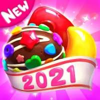 مجنون الحلوى الحلوى قنبلة المباراة 3 لعبة on 9Apps