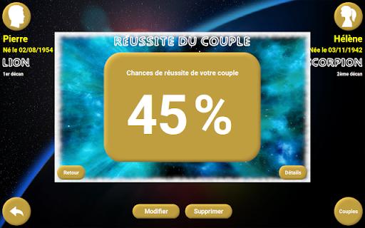 Horoscope du couple 6 تصوير الشاشة