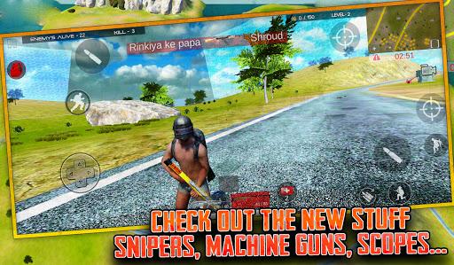 Free survival: fire battlegrounds screenshot 4